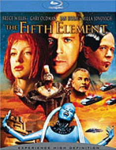 The Fifth Element [Blu-Ray Box Art]
