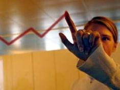 Woman Making Sales Chart