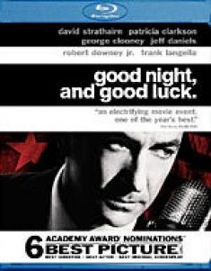 Good Night, and Good Luck [Blu-ray Box Art]