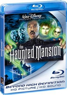 The Haunted Mansion [Blu-ray Box Art Large]