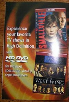 Warner TV on HD DVD Ad [Smallville, The West Wing]