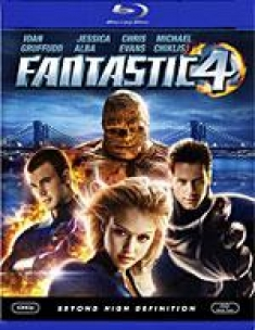 Fantastic Four [Blu-ray Box Art]