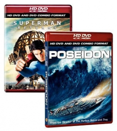 Superman Returns / Poseidon [HD DVD Box Art]