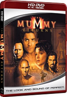 The Mummy Returns [HD DVD Box Art]