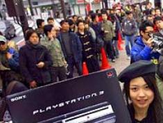 PlayStation 3 Sales Crowds