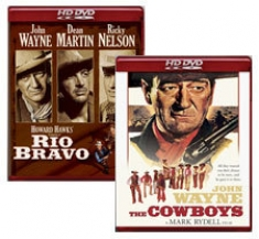 Rio Bravo, The Cowboys [HD DVD Box Art]