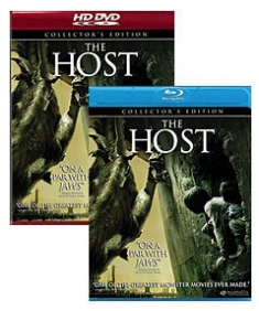 The Host [Blu-ray, HD DVD Box Art]