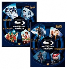 Best of Blu-ray, Action, Best of Blu-ray, Family [Blu-ray Box Art]