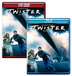 Twister [Blu-ray, HD DVD Box Art]