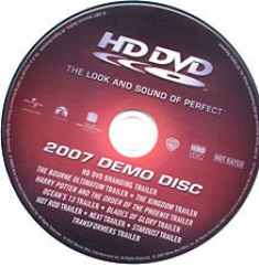 hd dvd demo disc