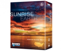 Sunrise Earth: American Sunrise [DVD Box Art]