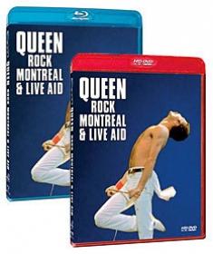 Queen Rocks Montreal [Blu-ray, HD DVD Box Art]