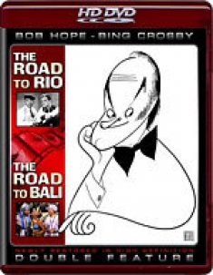 The Road to Bali / The Road to Rio (Double Feature) [HD DVD Box Art]