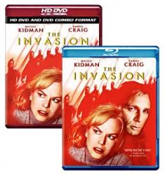 The Invasion [Blu-ray, HD DVD/DVD Combo Box Art]
