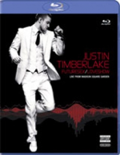 Justin Timberlake: Live at Madison Square Garden [Blu-ray Box Art]