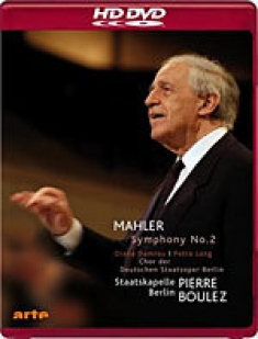 Mahler: Symphony No. 2 Resurrection [HD DVD Box Art[