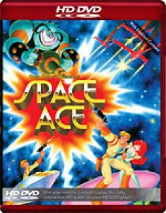 Space Ace [HD DVD Box Art]