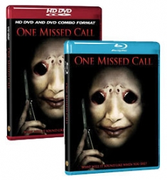 One Missed Call [Blu-ray, HD DVD/DVD Combo Box Art, REVISED]