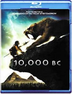 10,000 B.C. [Blu-ray Box Art]