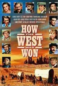 How the West Was Won [VHS Box Art]