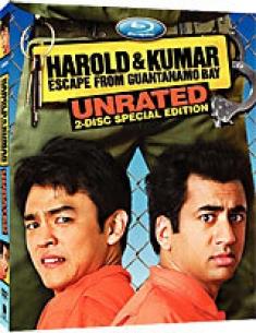 Harold & Kumar Escape to Guantanamo Bay [Blu-ray Box Art]