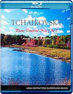 Tchiakovsky: Piano Concertos 1 & 3 [Blu-ray Box Art]
