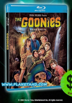 The Goonies [Blu-ray Box Art, TEMP]
