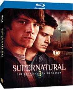 Supernatural: The Complete Third Season [Blu-ray Box Art]