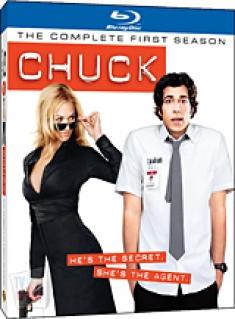 Chuck: The Complete First Season [Blu-ray Box Art]