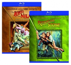Romancing the Stone, Jewel of the Nile [Blu-ray Box Art]