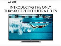 Sharp Aquos 70 inch UHDTV