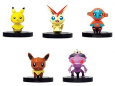 'Pokémon Rumble U' figures