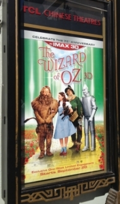 'The Wizard of Oz' IMAX 3D poster