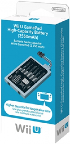 Wii U GamePad High-Capacity Battery