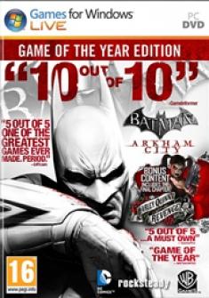 'Batman: Arkham Asylum & City' PC versions
