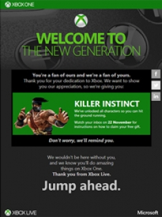 Killer Instinct Offer