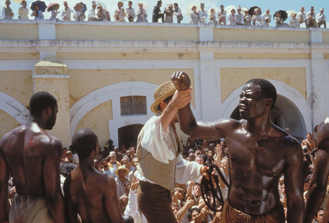 amistad movie review Based (at least partially) on the william owens novel black mutiny, amistad purports to tell the true story of a revolt on the spanish slaveship la amistad in 1839 while en route to cuba, african slaves overpowered and killed most of the ship's crew (depicted in the film's opening scene, which is much.
