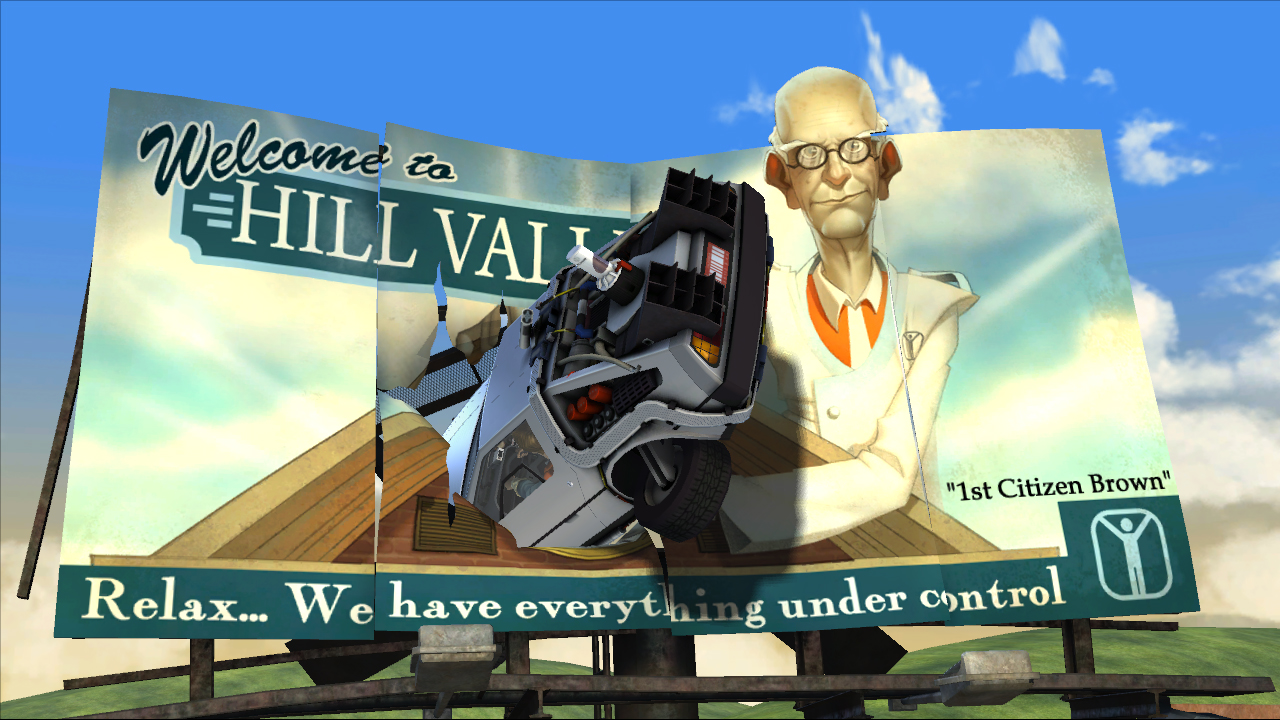 Back To The Future The Game Ps3 Review High Def Digest