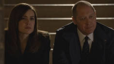 The Blacklist Season 1 Megan Boone and James Spader