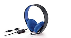 PlayStation Silver Wired Stereo Headset PS4 PS3 News
