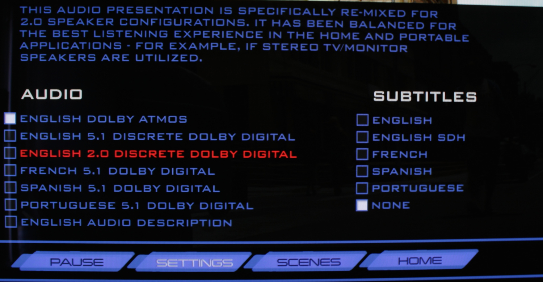 English 2.0 Discrete Dolby Digital