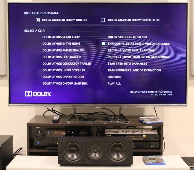 Dolby Atmos Demo Disc CEDIA 2014