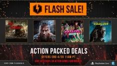 PSN April Flash Sale