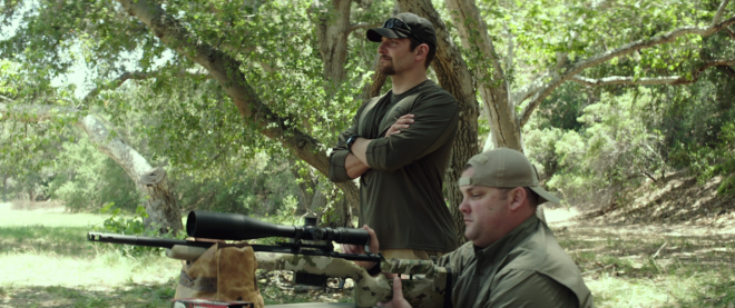 'American Sniper' - target practice with wounded vets