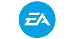 electronic arts logo blue