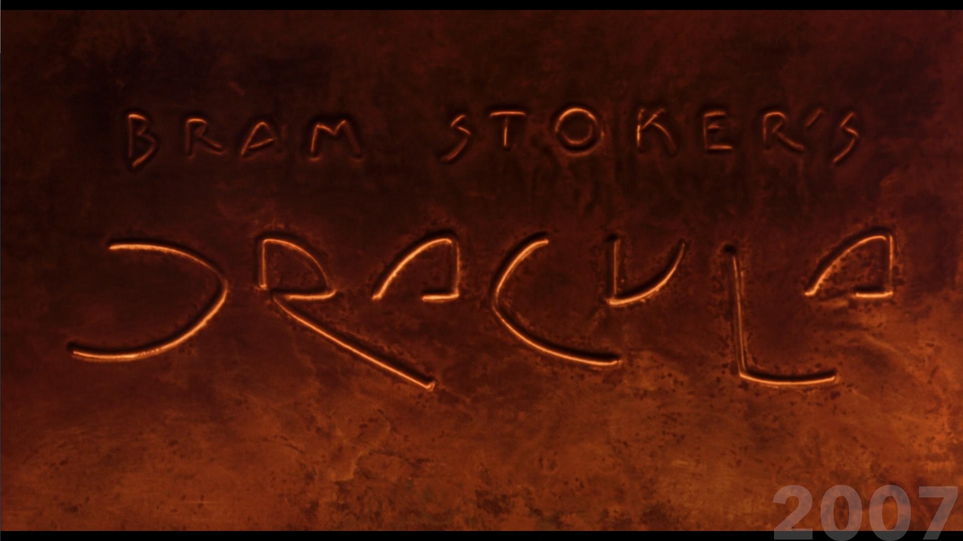 Bram Stoker's Dracula movie title 2007