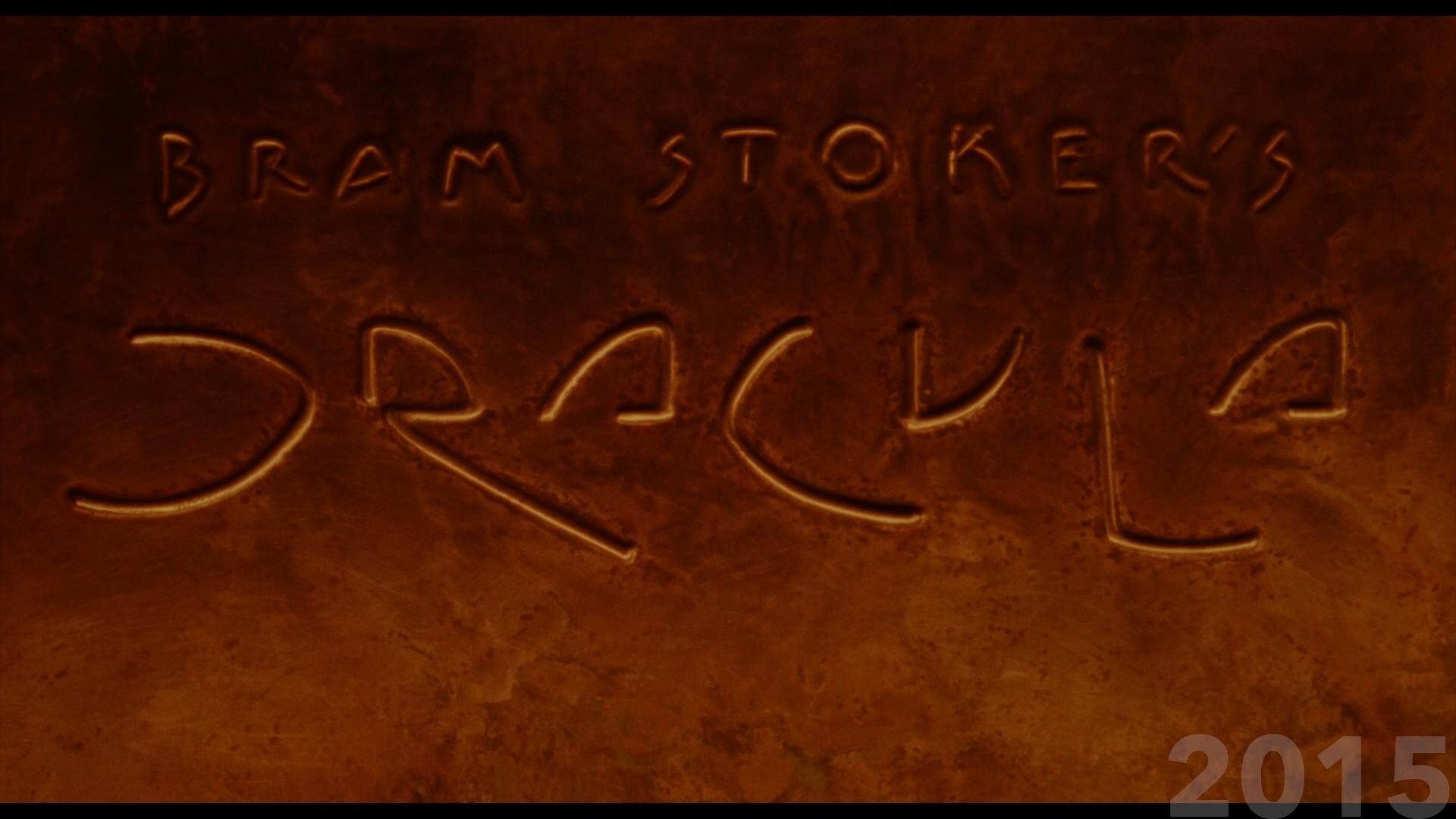 Bram Stoker's Dracula movie title 2015