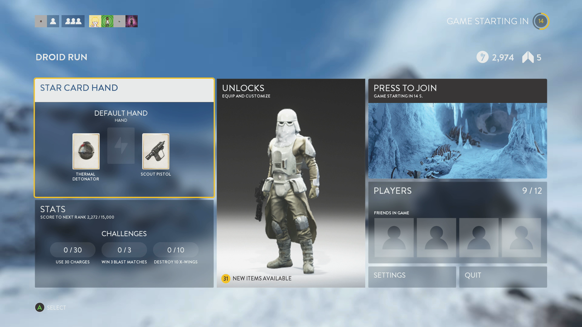 Star Wars Game For Xbox 1 : Star wars battlefront xbox one review high def digest