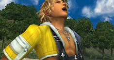 Final Fantasy X Tidus Laughing