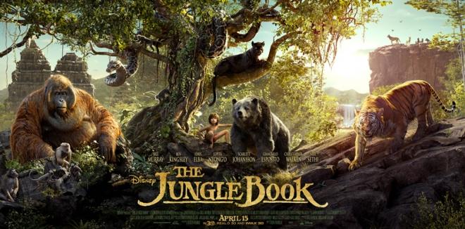 Jungle Book 2016 poster